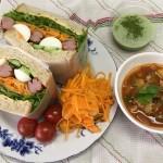 男の料理濱野写真2020.07ボリュームサンドイッチ